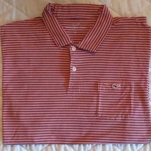 Men's Vineyard Vines Striped Polo
